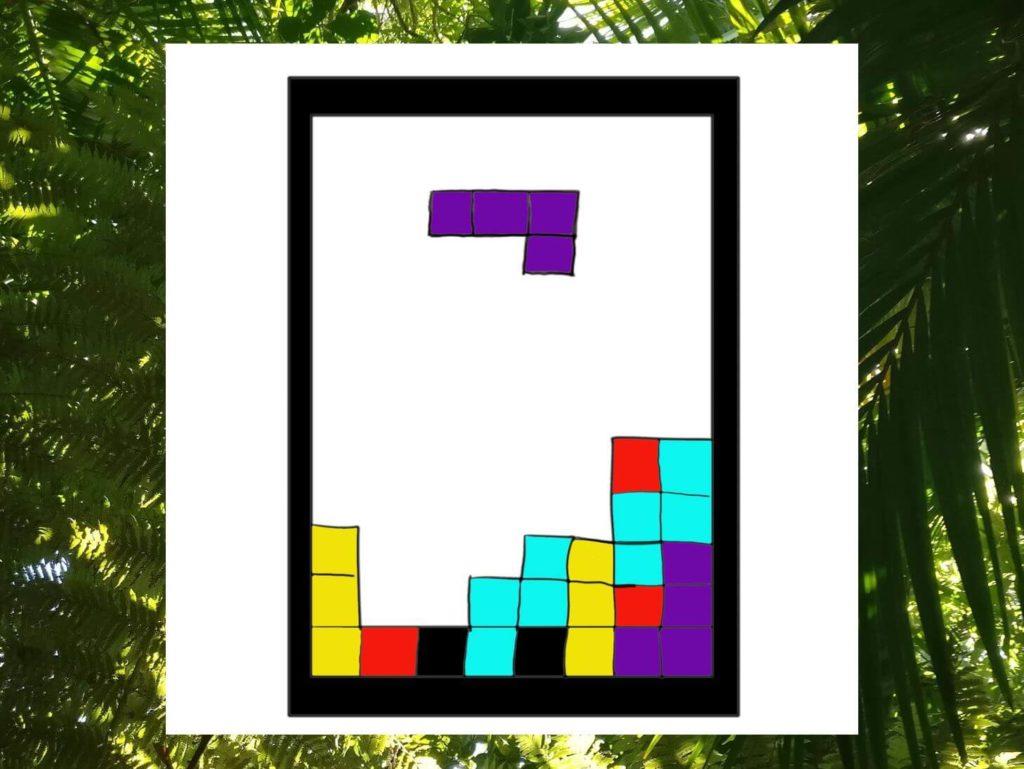Das Bild zeigt ein visualisiertes Tetris-Spiel, welches sinnbildlich für Akzeptanz steht. In dem Artikel erfährst du mehr über die drei Mythen rund um das Thema Akzeptanz.