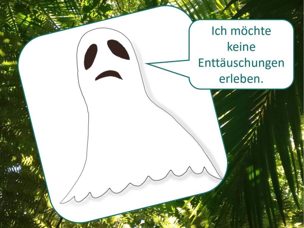 Dead People's Goals: Nur tote Menschen empfinden keine negativen Gefühle mehr. Visualisiert von www.achtsam-engagiert.de